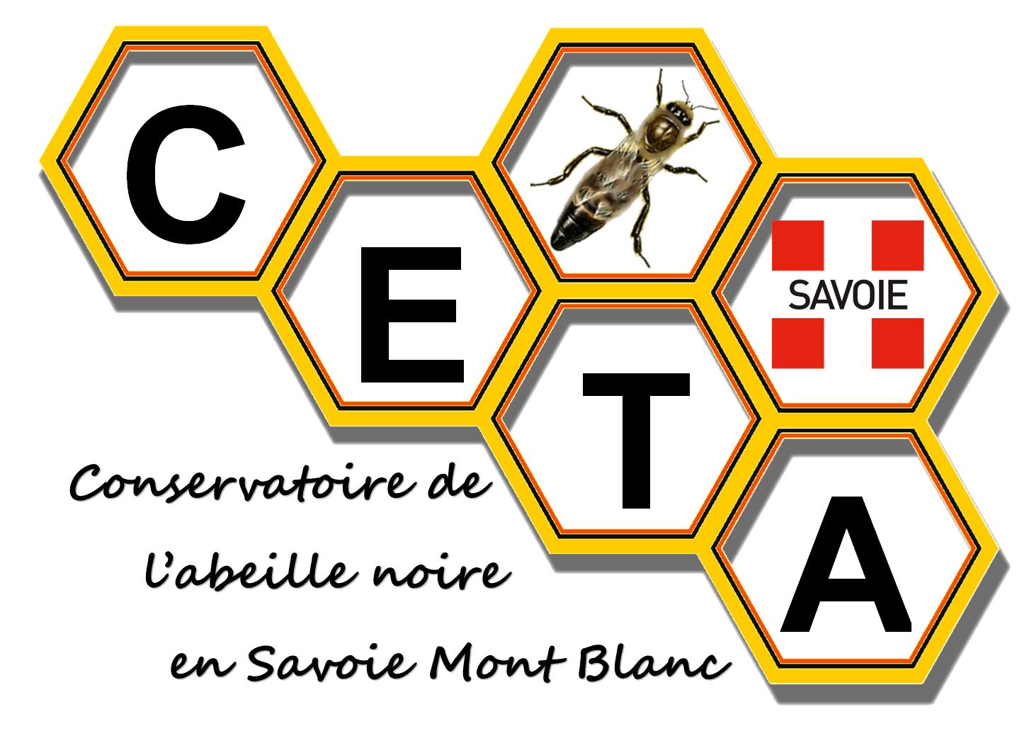 logo Conservatoire de l'abeille noire de Savoie Mont Blanc