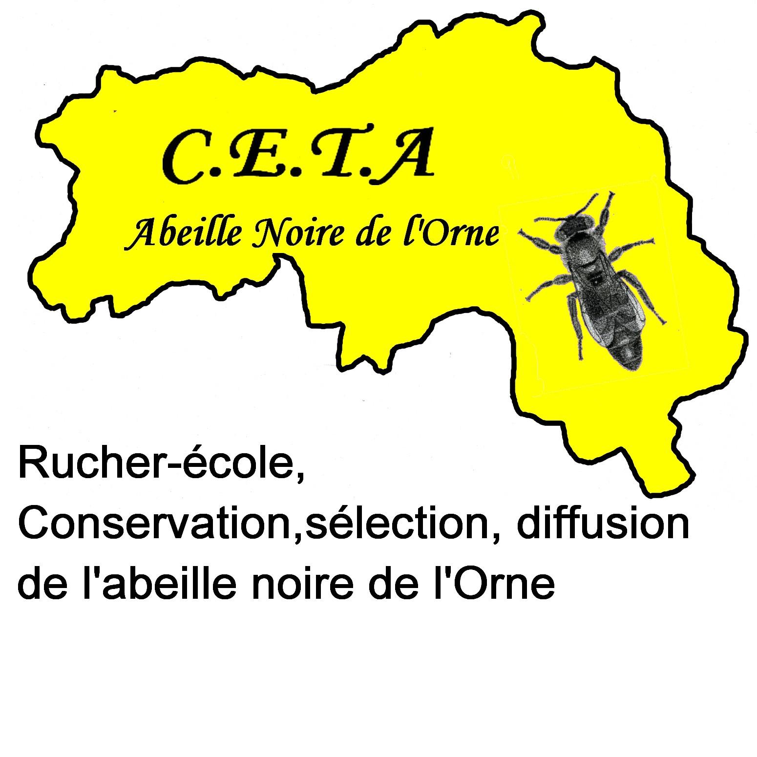 logo Conservatoire de l'abeille noire de l'Orne