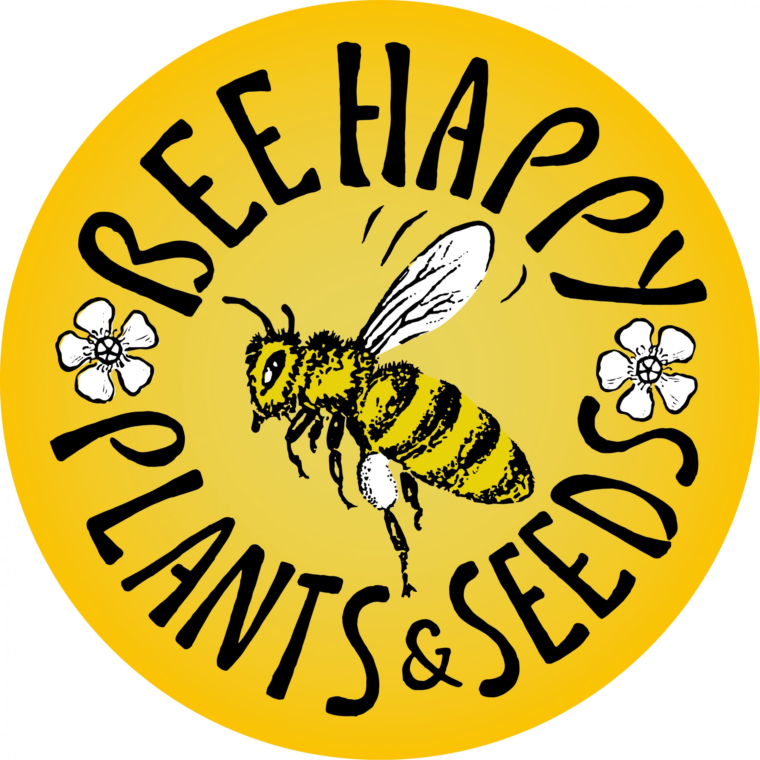 Bee Happy Plants & Seeds LOGO JPG - Sarah Holdsworth